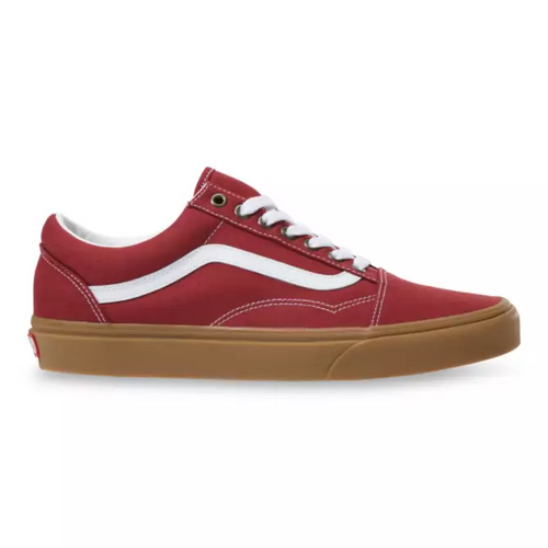 Vans Shoes - Old Skool - (Gum) Rosewood/True White
