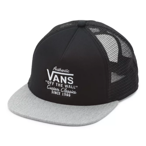 Vans Hat - Galer Trucker - Black/Heather Grey