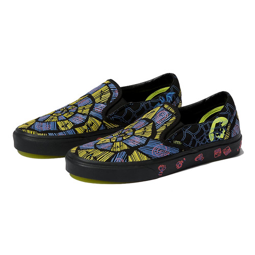Vans Shoes - Classic Slip-On - Oogie Boogie/Nightmare