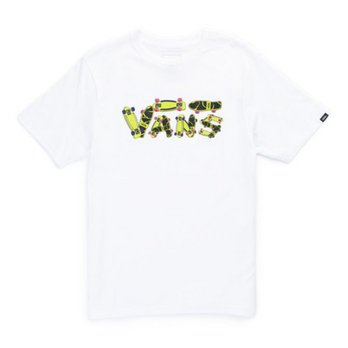 Vans Boy's Tee - Gripped - White