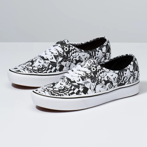 Vans Shoes - Comfycush Authentic - Multichecker/Nightmare
