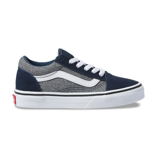 Vans Youth Shoes - Old Skool - Suede/Suiting/Dress Blues