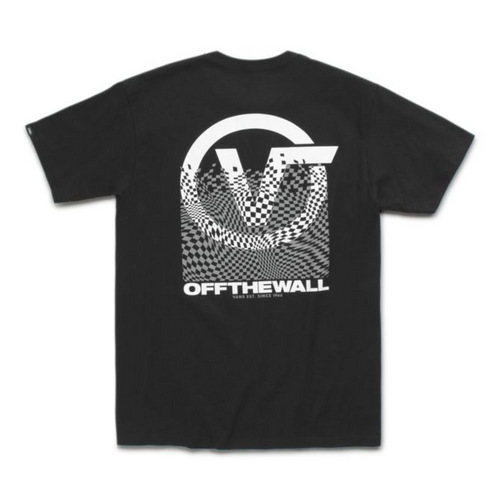 Vans Tee Shirt - Pixelated - Black