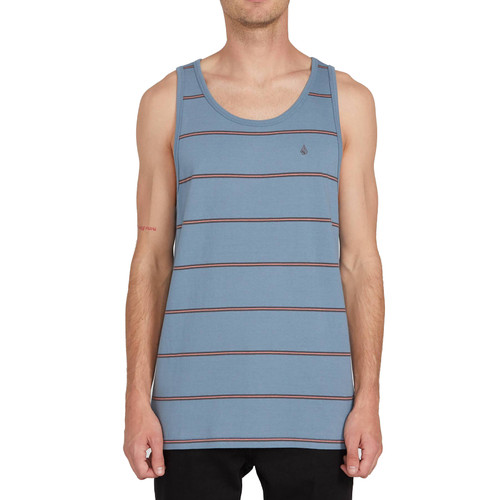 Volcom Tank Top - Smithers - Stormy Blue