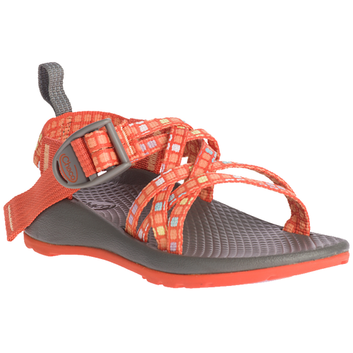 Chaco Kid's Sandal - Z/X1 Ecotread - Blocked Tiger
