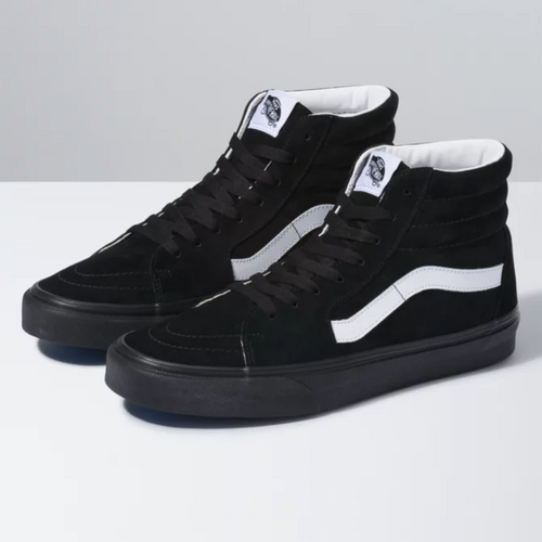 Vans Shoes - Sk8-Hi - Pig Suede/Black