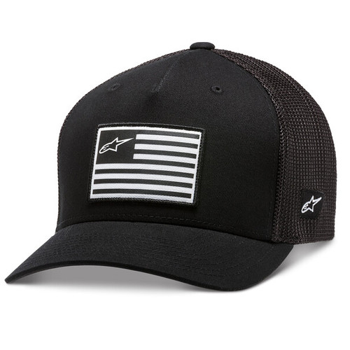 Alpinestar Hat - Flag - Black