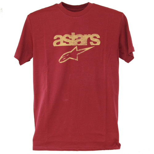 Alpinestar Tee Shirt - Heritage Blaze - Faded Wine