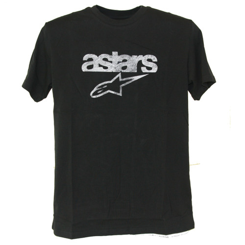 Alpinestar Tee Shirt - Heritage Blaze - Faded Black