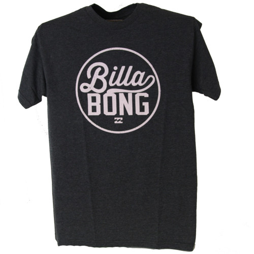 Billabong Tee Shirt - Tack - Charcoal Heather
