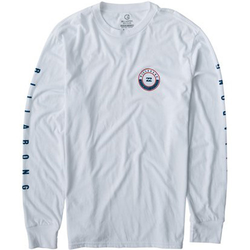 Billabong Shirt - Rotor LS - White