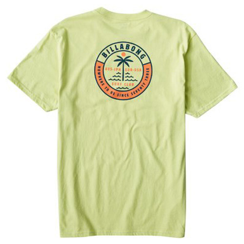 Billabong Tee Shirt - Seashore - Lime Light