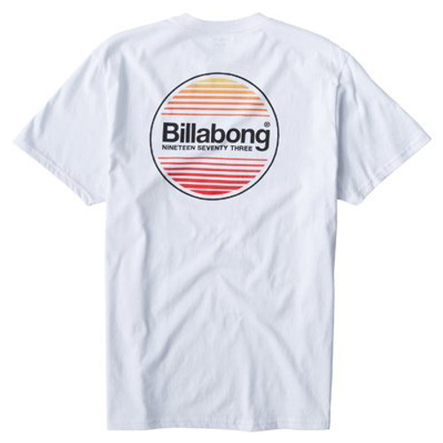 Billabong Tee Shirt - Atlantic - White