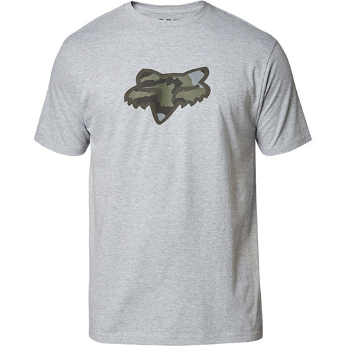 Fox Tee Shirt - Predator - Light Heather Grey