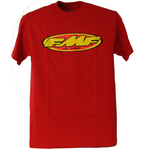 FMF Tee Shirt - The Don 2 - Red