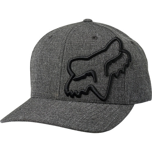 Fox Hat - Clouded - Black/Black