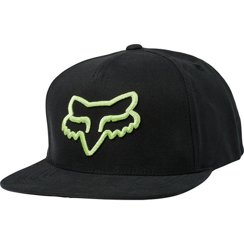 Fox Hat - Instill - Black/Green