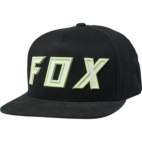 Fox Hat - Possessed Snapback - Black/Green