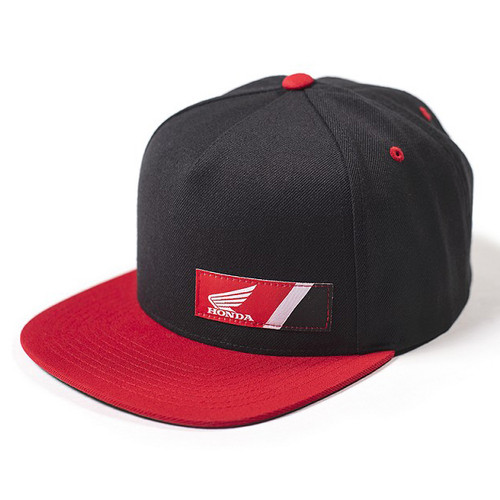 Factory Effex Hat - Honda Wedge - Black/Red