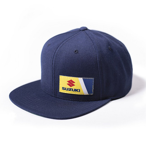 Factory Effex Hat - Suzuki Wedge - Navy
