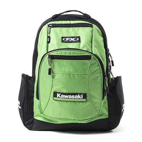 Factory Effex Backpack - Kawasaki Premium - Green/Black