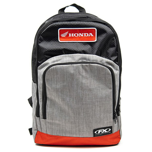 Factory Effex Backpack - Honda Standard - Grey/Red