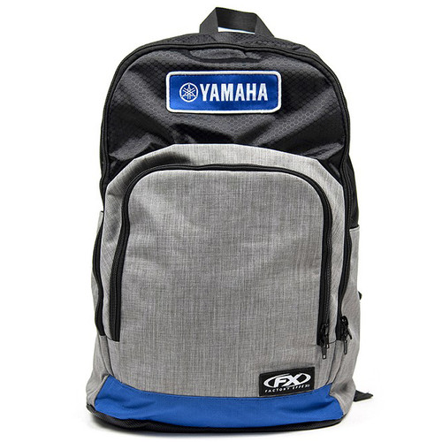 Factory Effex Backpack - Yamaha Standard - Grey/Blue