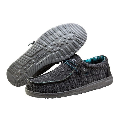 Hey Dude Shoes - Wally Sox - Charcoal