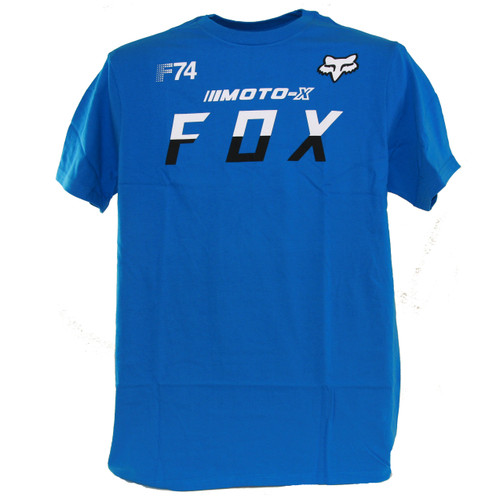 Fox Tee Shirt - Moto X Fox - Blue