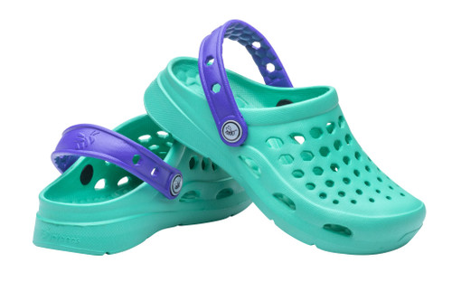 Joybees Youth Clog - Active - Teal/Violet