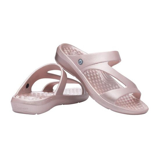 Joybees Women's Sandal - Everyday Metallic - Rose Gold