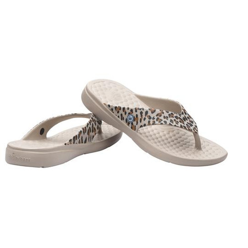 Joybees Women's Flip Flop - Casual Graphics - Leopard