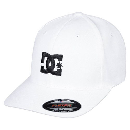 DC Hat - Cap Star 2 - White/Black