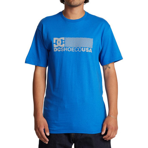 DC Tee Shirt - Break Bounce - Nautical Blue