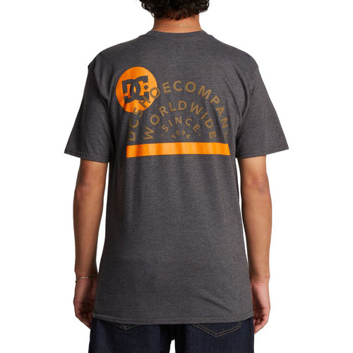 DC Tee Shirt - DC Since 94 - Charcoal Heather