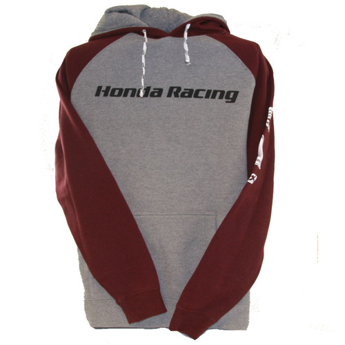 Factory Effex Hoody - Honda Racing - Heather Burgundy