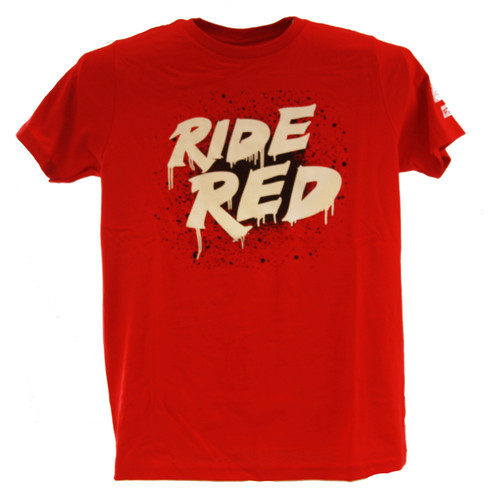 Factory Effex Youth Tee Shirt - Honda Splatter - Red