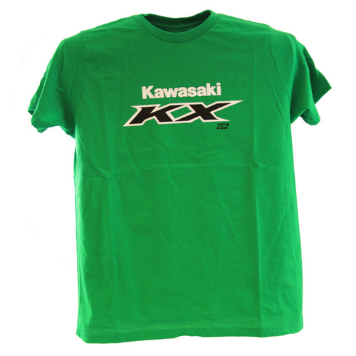 Factory Effex Youth Tee Shirt - Kawasaki KX - Green