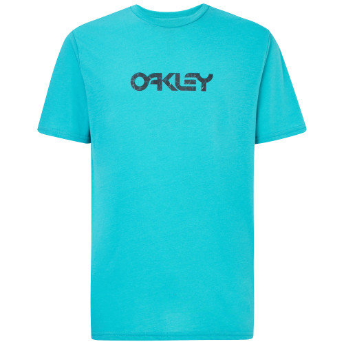 Oakley Tee Shirt - Camo B1B Logo - Wave Blue