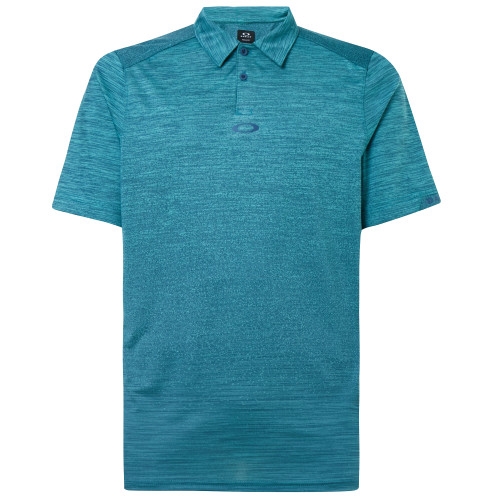 Oakley Shirt - Gradient Gravity Polo 2.0 - Wave Blue Heather