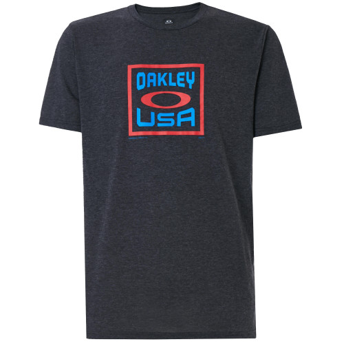 Oakley Tee Shirt - Box Oakley USA - Dark Grey Heather