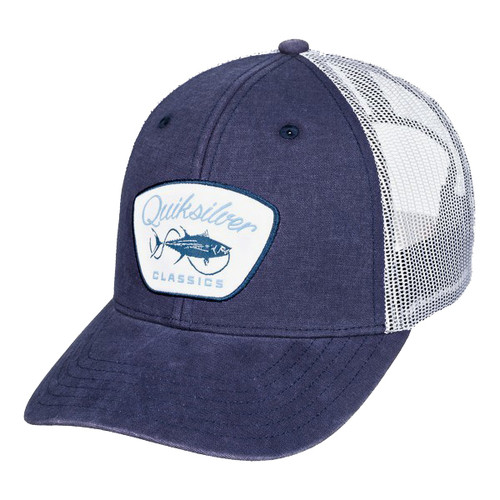 Quiksilver Hat - Fish Monger Trucker - Midnight Navy