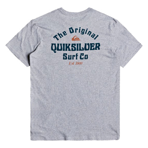 Quiksilver Tee Shirt - Energy Project - Micro Chip Heather