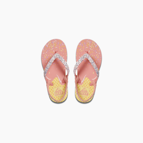 Reef Girls Flip Flop - Little Stargazer Prints - Ice Cream