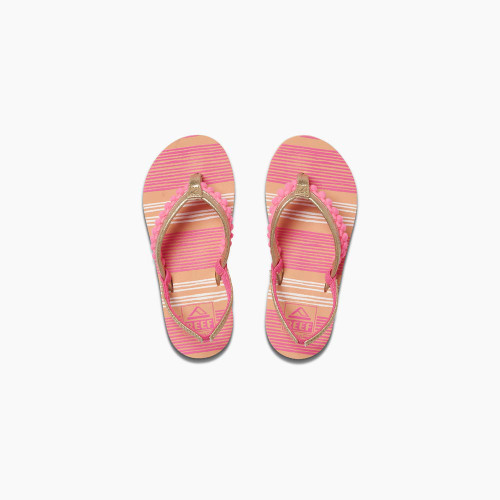 Reef Girls Flip Flop - Little Pom Pom - Pink