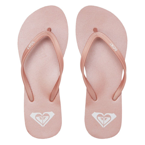 Roxy Flip Flop - Azul - Rose Gold