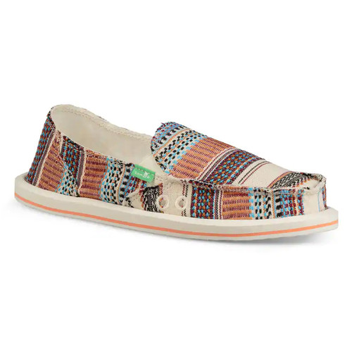 Sanuk Women's Shoes - Donna Tribal - Natural Multi