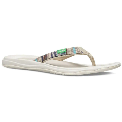Sanuk Women's Flip Flop - Tripper H20 Yeah LX - Angel Blue/Blanket