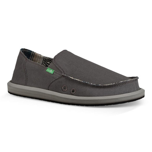 Sanuk Shoes - Vagabond Baja - Charcoal