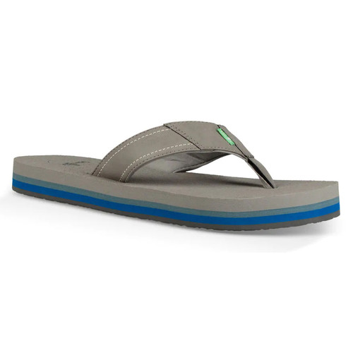 Sanuk Flip Flop - Beer Cozy Stacker - Grey